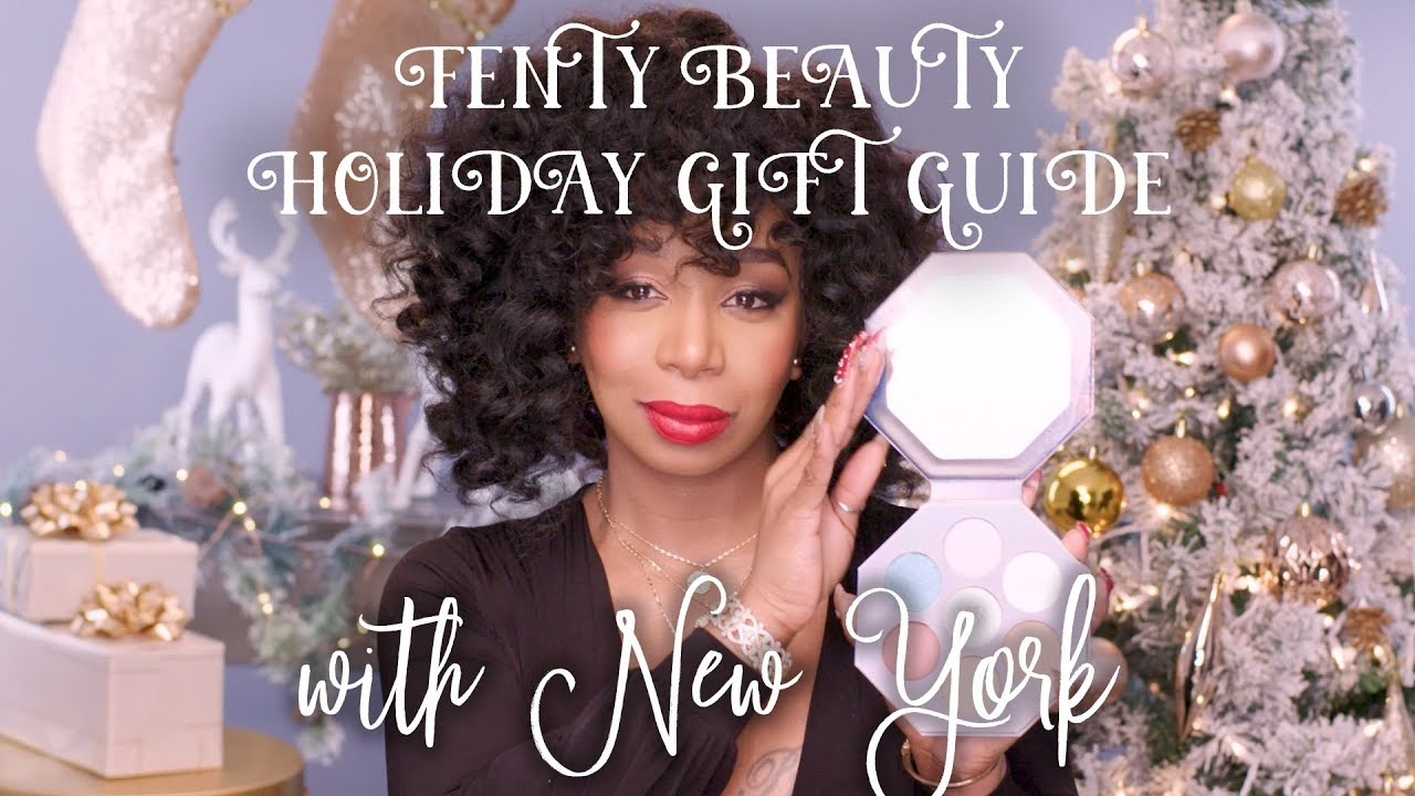 Image result for FENTY HOLIDAY GIFT GUIDE WITH NEW YORK