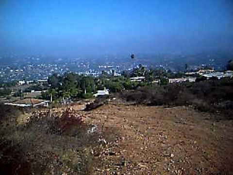 walking down dictionary hill in spring valley california