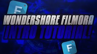 How To Make A Sick Intro In Wondershare Filmora! Wondershare Filmora Intro Tutorial
