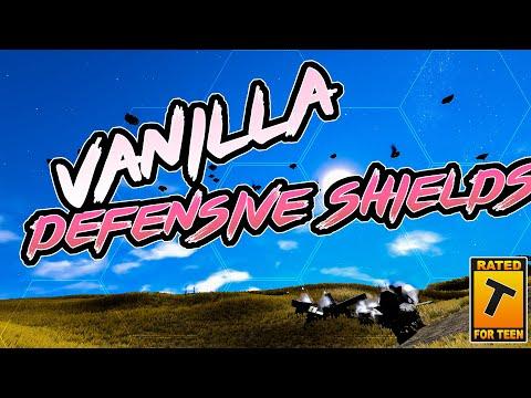 Vanilla Defensive Shields | Space Engineers