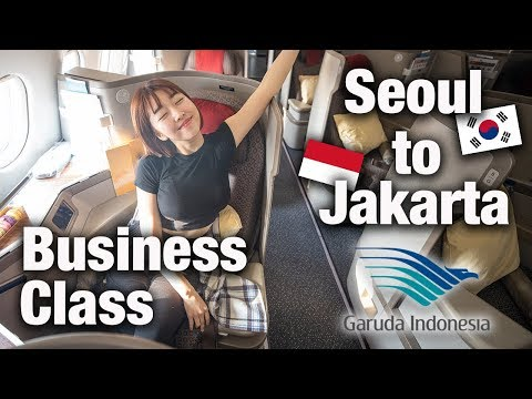 FIRST CLASS to BALI with Garuda Indonesia.