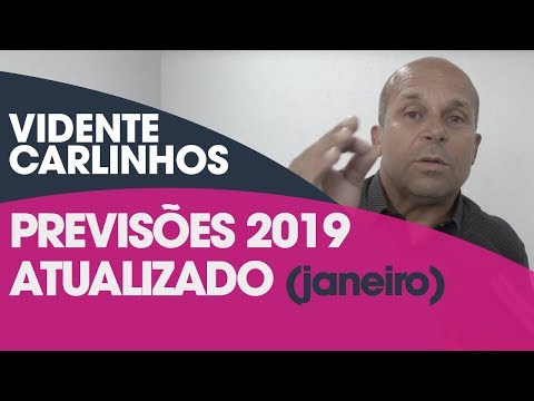 VIDENTE AO VIVO PREVISÕES PARA 2019