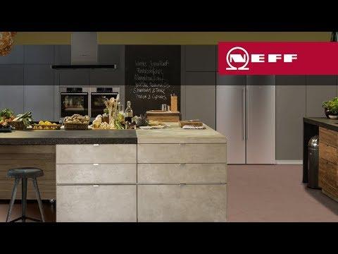 side-by-side kühlschränke von neff - youtube - Küche Mit Amerikanischem Kühlschrank