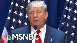 President Donald Trump's Racist Past | Velshi & Ruhle | MSNBC