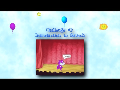 Programming 4 Kids in Scratch 2: Challenge #1 - Introduction to Scratch