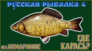 РР4 КОМАРИНОЕ КАРАСЬ РУССКАЯ РЫБАЛКА 4 КАРАСЬ RUSSIAN FISHING 4 MOSQUITO LAKE CRUCIAN CARP