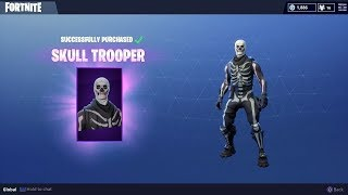 how to get the skull skin in fortnite