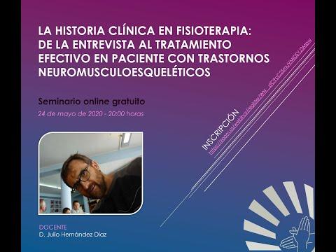 La historia clínica en fisioterapia: de la entrevista al tratamiento efectivo en paciente con trastornos neuromusculoesqueléticos