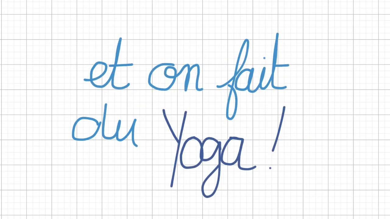 On reste chez nous et on fait du yoga !