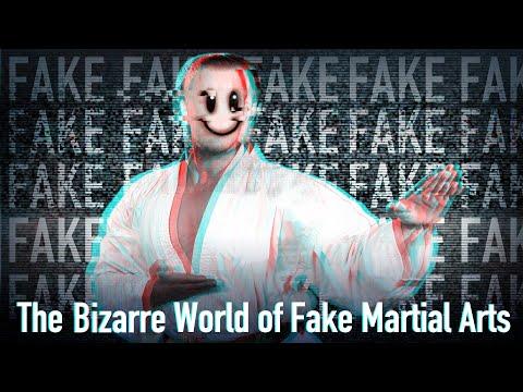 The Bizarre World of Fake Martial Arts