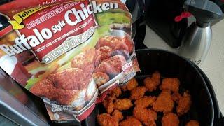 John Soules Air Fryer Buffalo Chicken Bites Cooks Essentials 5.3qt Airfryer