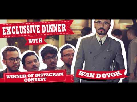 Press Conference dan Dinner Bareng Wakdoyok di Jakarta