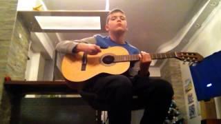 Саундтрек из фильма такси на гитаре