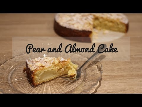 Pear And Almond Cake - Easy And Delicious