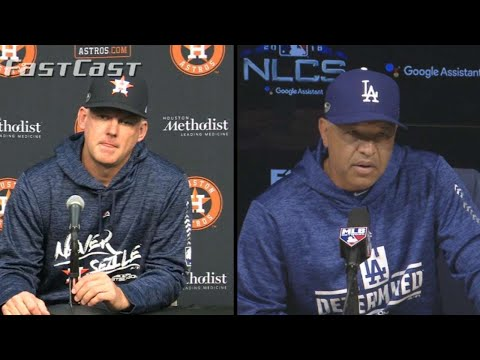 MLB.com FastCast: Managers speak before LCS - 10/10/18