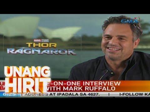 Unang Hirit: Mark Ruffalo, ikinuwento ang partisipasyon ng kanyang mga anak sa 'Thor' movie