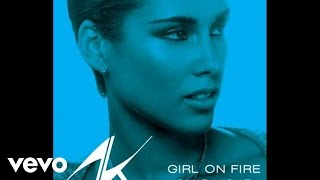 Alicia Keys - Girl On Fire (Bluelight Version) (Audio)