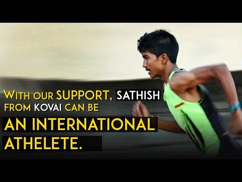 Inspiration: With Our Support, Sathish From Coimbatore Can Become An International Level Athlete