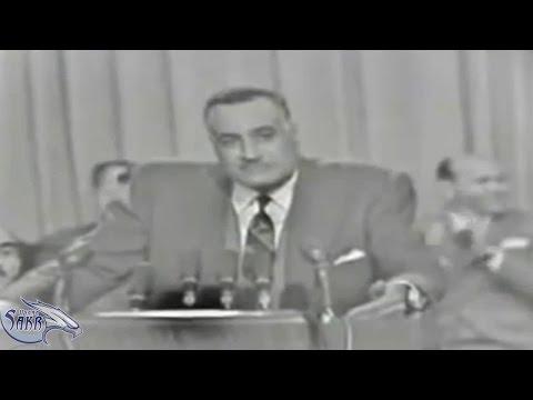 تسجيل نادر جدا للزعيم جمال عبد الناصر و هو يفضح الملوك العرب