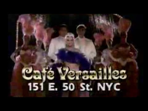 1985 Cafe Versailles Restaurant New York City TV Commercial