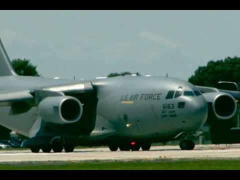 KC-135E Stratotanker Fini Flight to Dover AFB