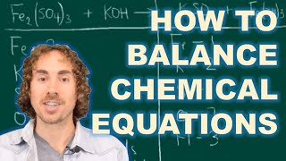 The best method to balance chemical equations