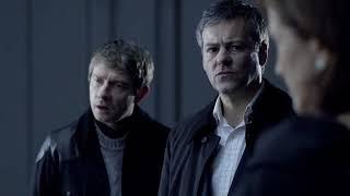 Шерлок 1 сезон 3 серия Шерлок и Джон vs Голем