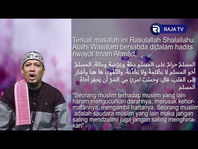 Hormati dengan Menjawab Salam Mereka - AsbabunNuzul QS Al An'am54 - Ust Dikdik