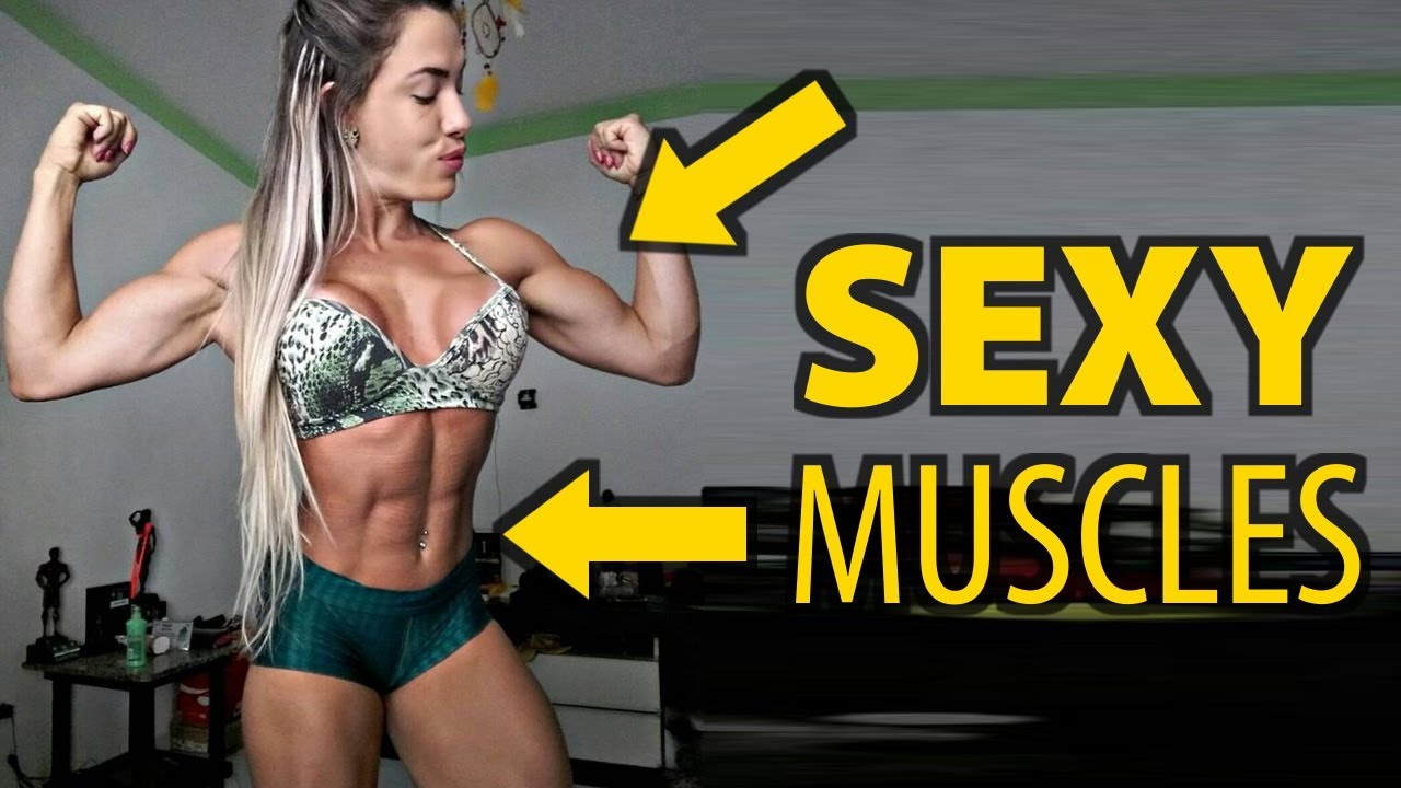 Girl hot muscle girls with