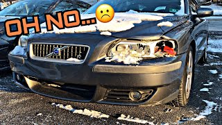 Our Project Volvo V70R Has Been In A Minor Crash