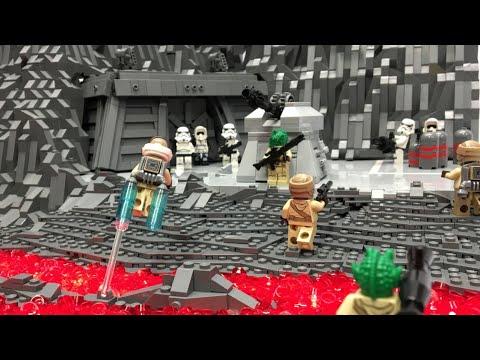 Lego Star Wars Battlefront 3 Sullust MOC Magma Trooper Rebels - YouTube