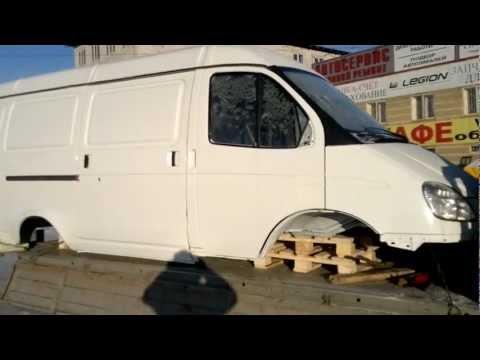 """Кузов ГАЗ 2705 """"ГАЗель"""" 3-х местный в сборе под дв. ЗМЗ 406.3"""