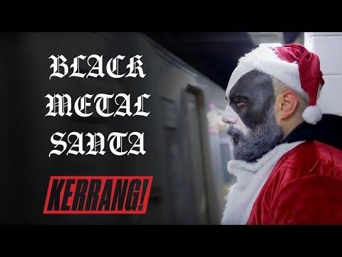 Black Metal Santa