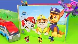 Patrulha canina Brinquedos - Carrinho de Bombeiros e Fireman Marshall - Paw Patrol Toys