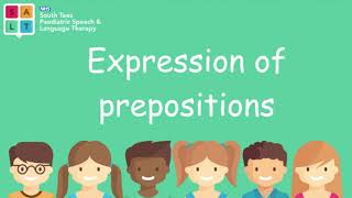 Using Prepositions (Positional Language) in Spoken Language