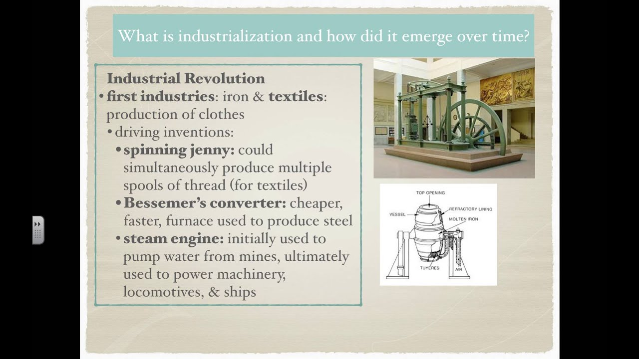 What is industrialization 82