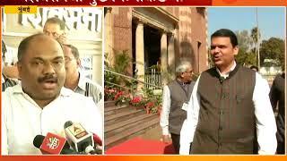Mumbai | Shiv Sena MLA Meet CM Devendra Fadanvis For Development Plan In Marathi
