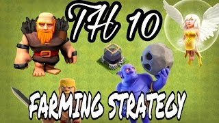 TOWN HALL 10 (TH10) GIBOWI DARK ELIXIR FARMING STRATEGY | HOW TO FARM DARK AT TH10? | CLASH OF CLANS