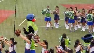 神宮球場(YS vs D) 11 由規 1771日ぶり復帰! 始球式は9代目ピーター...