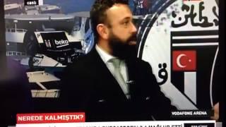 Patlama Anı: Beşiktaş TV Canlı Yayındayken Vodafone Arena