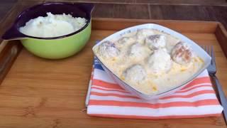 Chiftele in sos de smantana   Katy's Food