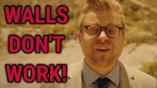 Adam Ruins Everything Doesn't Understand Walls.