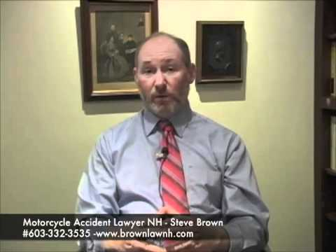 Motorcycle Auto Accident Lawyer Stephen Brown Exeter NH