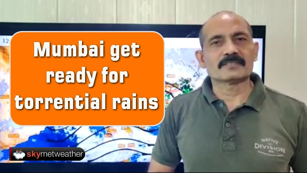 Mumbai get ready for torrential rains | Skymet Weather
