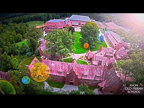 The Stunning Avon Old Farms School Campus Autumn 2014