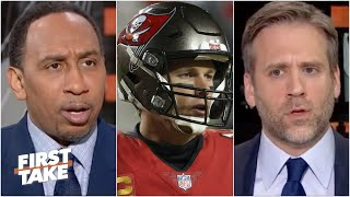 Stephen A. & Max disagree on Tom Brady's GOAT status if he wins Super Bowl LV | First Take