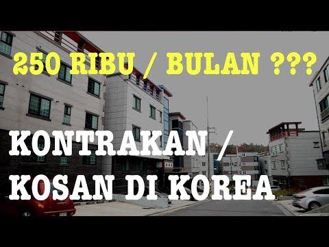 SUASANA KONTRAKAN / KOS-KOSAN DI KOREA