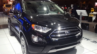 2018 Ford Ecosport Review Walkthrough, Features Specifications