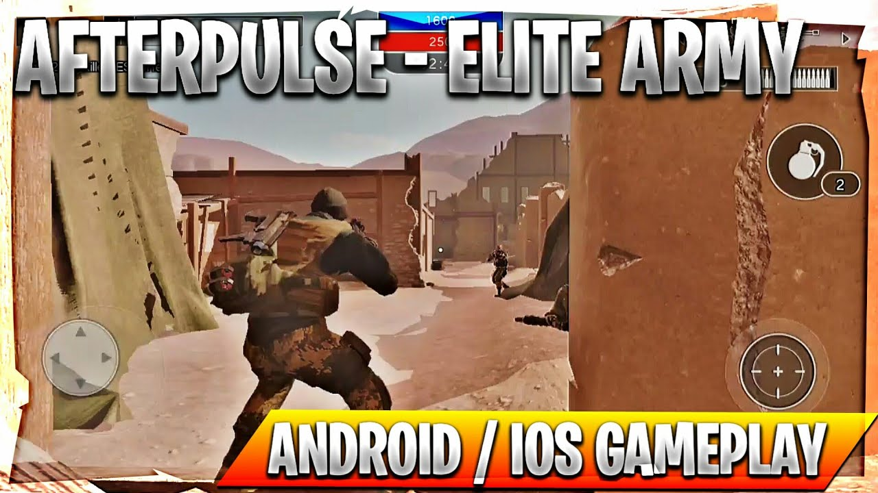 Afterpulse Elite Army - Android / iOS Gameplay [ Ultra Graphics TPS ] 🔥