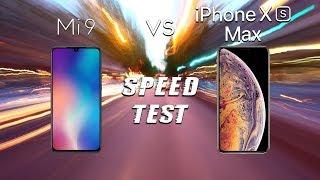 Xiaomi Mi 9 vs iPhone Xs Max: SPEED TEST